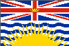 British Columbia Provincial Flag